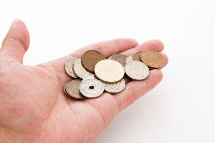 日本の硬貨の重さはどのくらい?