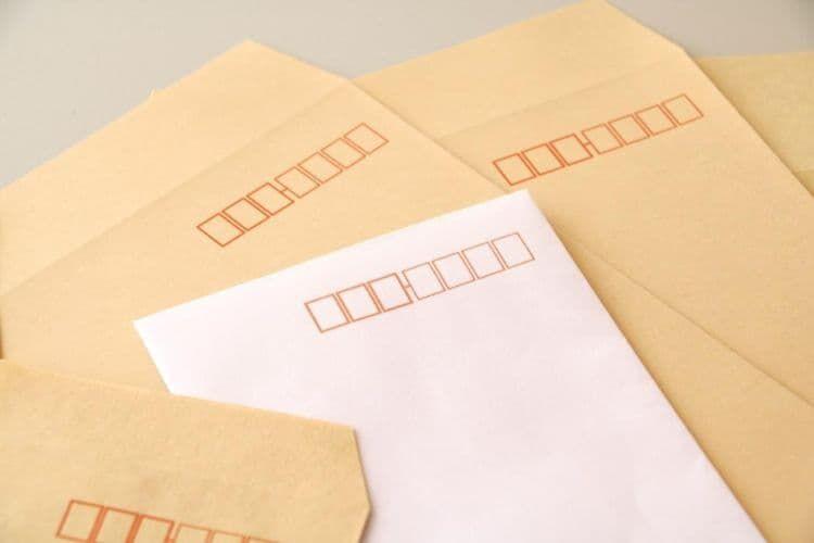 封筒の書き方以外で注意したいこと