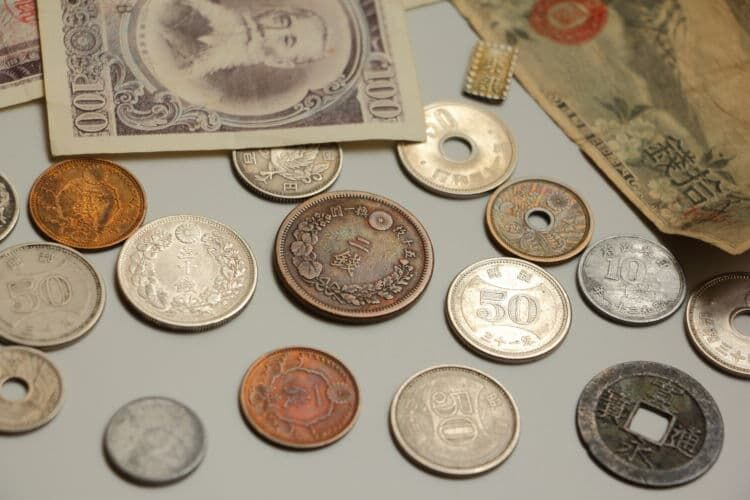 明治時代の金属貨幣・紙幣の種類