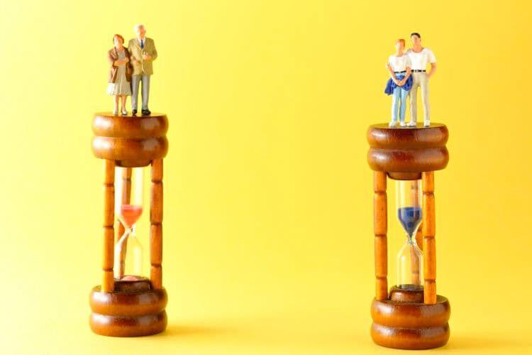 定年前と老後で比べた生活費の変化