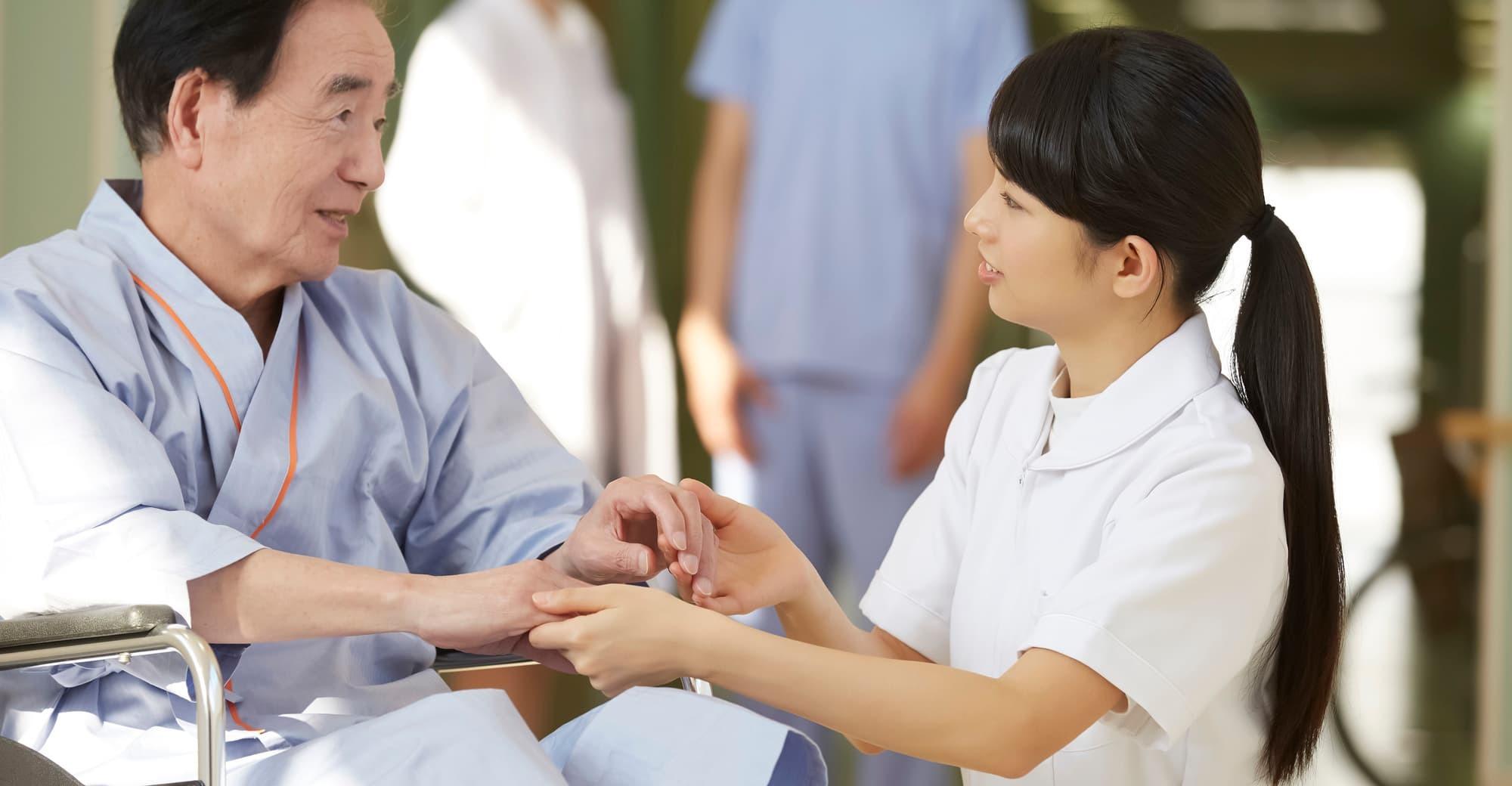 看護師の仕事の環境は