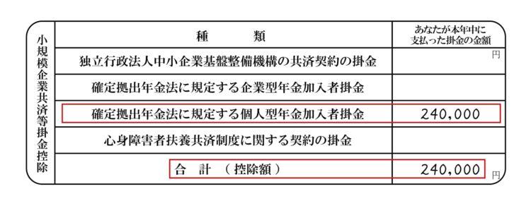 2.iDeCoの年末調整や確定申告は簡単!