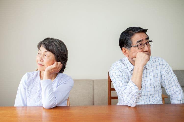 増加する熟年離婚